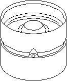 Reservdel:Citroen Zx Vevtapp / ventillyftare