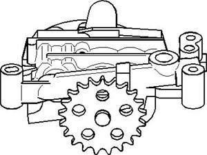 Reservdel:Citroen C3 Oljepump