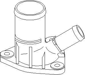 Reservdel:Citroen Xsara Rördel, motorkylning