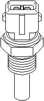 Reservdel:Citroen Xm Kylvätsketemperatur-sensor