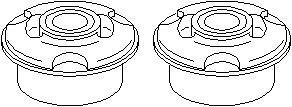 Lagring, stabilisator, Foran, Foran, høyre eller venstre