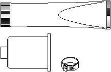 Reservdel:Citroen Zx Styrväxeldamask, Fram, Passagerarsida