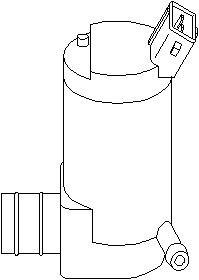 Reservdel:Citroen Ax 11 Spolarpump