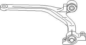 bærebru, Ytre, Framaksel nede, Framaksel venstre, Venstre