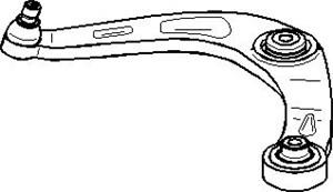 Länkarm, Bak, Bakaxel upptill, Höger eller vänster, Nedre framaxel, Vänster fram, Vänster