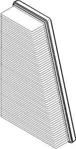 Reservdel:Citroen Xsara Luftfilter