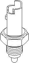 Reservdel:Citroen C3 Brytare, backljus