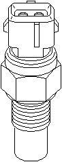 Reservdel:Citroen Zx Sensor, oljetemperatur