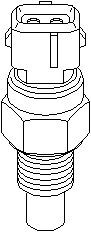 Reservdel:Citroen Ax 11 Kylvätsketemperatur-sensor