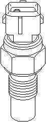Reservdel:Citroen Ax 11 Termostat, kylvätska
