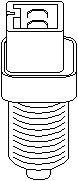 Reservdel:Citroen Bx Kontakt, kopplingsstyrning (motorstyrning)