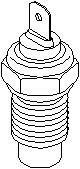 Reservdel:Citroen Ax 11 Sensor, kylvätsketemperatur