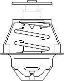 Reservdel:Citroen Zx Termostat, kylvätska