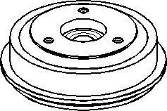 Reservdel:Citroen Ax 11 Bromstrumma, Bakaxel
