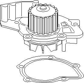 Reservdel:Ford S-max Vattenpump