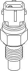 Reservdel:Citroen C3 Temperaturbrytare, AC-fläkt