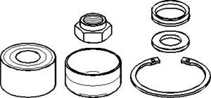 Reservdel:Citroen Ax 11 Hjullagersats, Bak, höger eller vänster