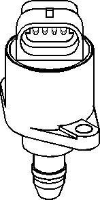 Reservdel:Citroen Zx Tomgångsventil, lufttillförsel