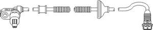 Tunnistin, kiertonopeus, Takana, Taakse, oikea tai vasen puoli