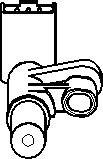 Reservdel:Citroen Evasion Sensor, kamaxelgivare