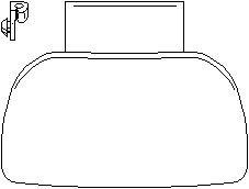 Reservdel:Citroen Zx Dörrhandtag, Höger fram, Vänster fram