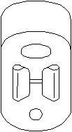 Reservdel:Citroen Xm Hållare, ljuddämpare