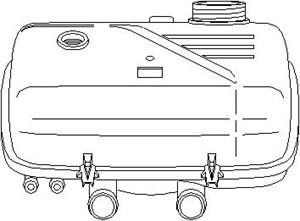 Reservdel:Citroen C8 Expansionskärl, kylvätska