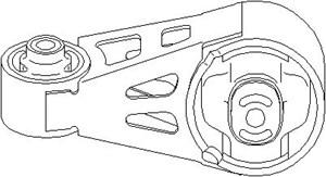 Reservdel:Citroen Evasion Motorkudde, Höger upptill