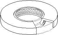 Reservdel:Citroen C3 Oljepackningsring, differential, Höger