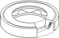 Pakdåse, differentiale, Foran til venstre, Højre eller venstre, Højre, Venstre