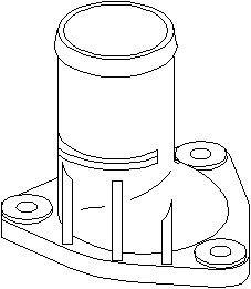 Reservdel:Citroen Zx Rördel, motorkylning