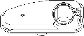 Reservdel:Citroen C8 Hydraulikfilter, automatväxellåda