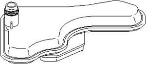 Reservdel:Citroen C3 Hydraulikfilter, automatväxellåda