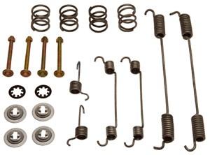 Accessory Kit, brake shoes, Rear