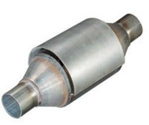 Catalytic converter, round, Universal