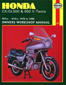 Haynes reparasjonshåndbok, motorsykkel, Honda CX/GL500 & 650 V-Twins