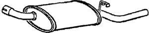 Reservdel:Ford Escort Bakre ljuddämpare, Bak
