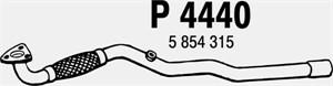 Reservdel:Opel Zafira Avgasrör, Fram
