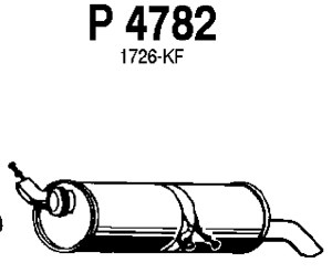 Exhaust in addition End Silencer P64978 besides  on peugeot 308 exhaust system