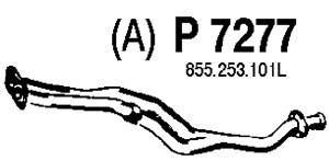 varaosat:Audi 80 Pakoputki, Edessä