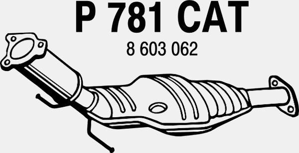 katalysator - volvo s60 i  s80 i  v70 ii