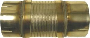Fleksirør med slissede kabelhoder, rustfritt, Universal