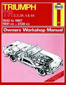 Haynes Reparationshandbok, Triumph TR2 TR3 TR3A TR4 TR4A, Triumph TR2, TR3, TR3A, TR4 & TR4A