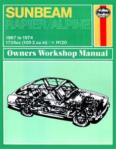 Haynes Reparationshandbok, Sunbeam Alpine, Rapier & H120, Universal