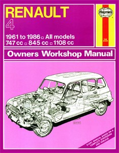 Haynes Reparationshandbok, Renault 4