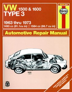 Haynes Reparationshandbok, VW Type 3