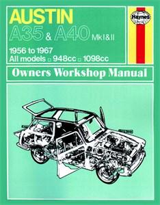 Bildel: Haynes Reparationshandbok, Austin A35 & A40