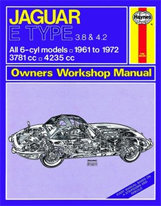Haynes Reparationshandbok, Jaguar E Type, Universal