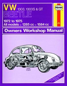 Haynes Reparationshandbok, VW Beetle 1303, 1303S & GT, Universal
