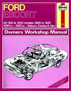 Haynes Reparationshandbok, Ford Escort Mk I 1100 & 1300, Universal